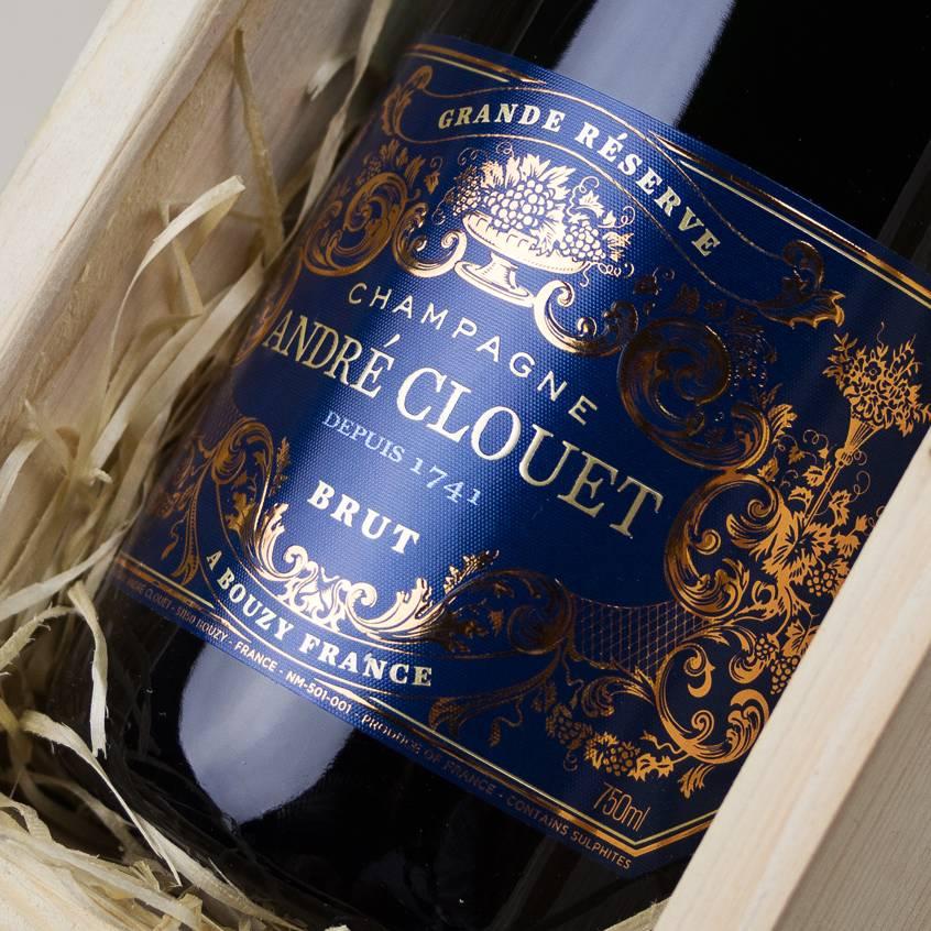 Champagne André Clouet Magnum Relatiegeschenk Wijn Bezorgen